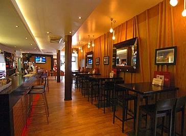 Bacchus Restaurant in Glasgow