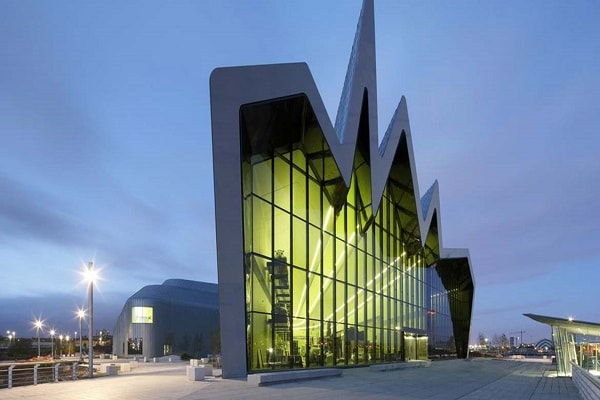 Riverside Museum in Glasgow