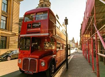 Red Bus Bistro in Glasgow